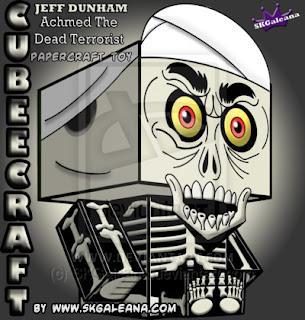 Ninjatoes 39 papercraft weblog achmed the dead terrorist for Achmed the dead terrorist halloween decoration
