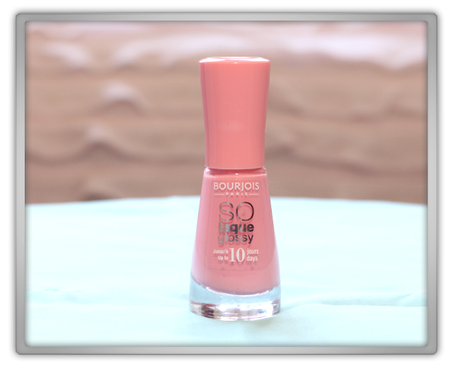 NON Asian Bourjois beauty products Haul Review 2015 blogger So Laque So Glossy peach & love shine high opaque pink barbie nail polish
