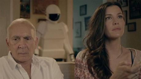 Frank Langella y Liv Tyler en Un amigo para Frank (Robot & Frank)