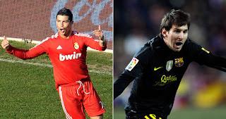 ¿El taco de Cristiano o el tiro libre de Lio Messi?