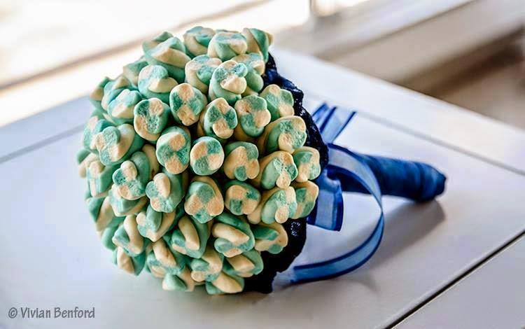 Bouquet marshmallow para Daminhas