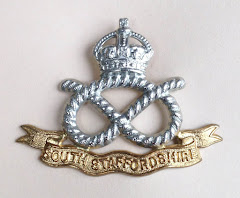 The South Staffordshire Regiment Cap Badge