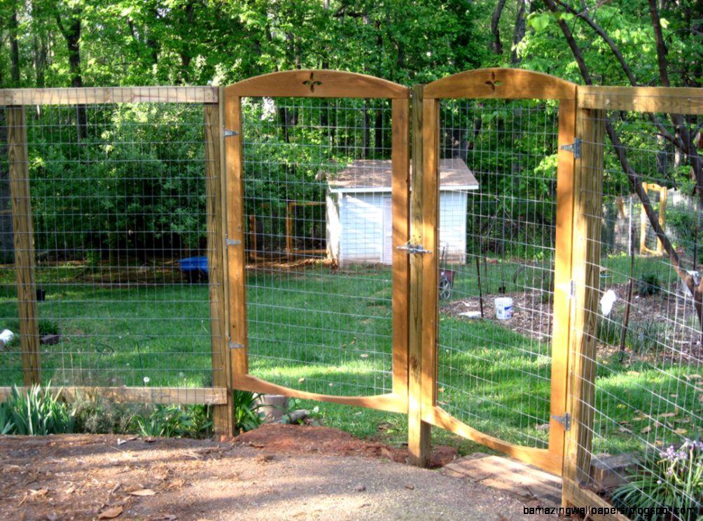 Garden Fence Deer