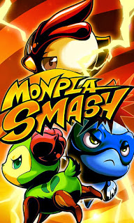 Screenshots of the Monpla Smash for Android tablet, phone.