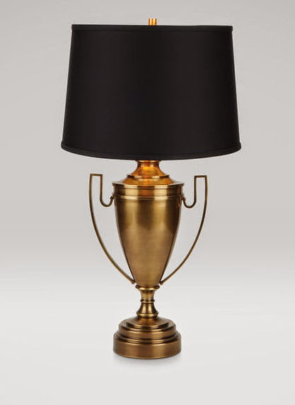 --------Brass Trophy Lamp------