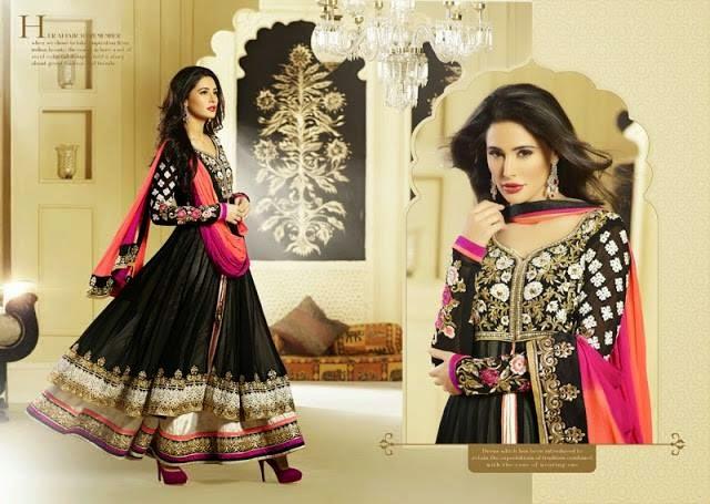 Nargis fakhri in designer indian attires 2014
