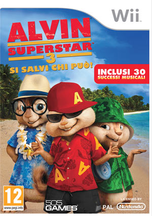 Alvin Superstar 3 Wii
