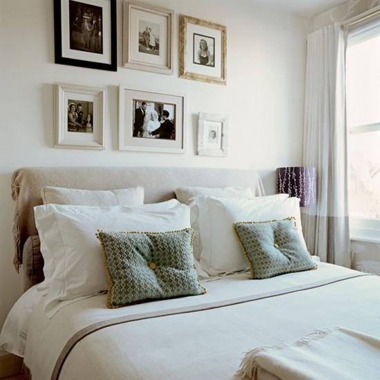 decoracao quadro branco:DECORAÇÃO: 5 QUARTOS ONDE OS QUADROS SÃO DESTAQUE – Cores da Casa