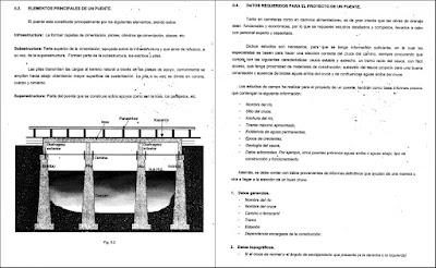 Elementos principales de un puente