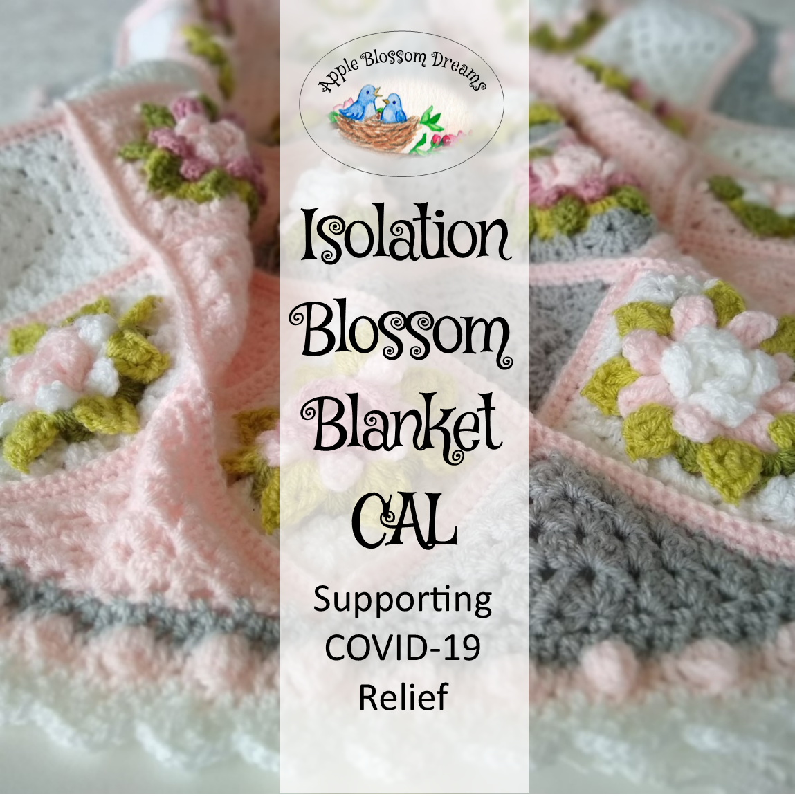 Isolation Blossom Blanket Crochet-A-Long Supporting COVID-19 Relief