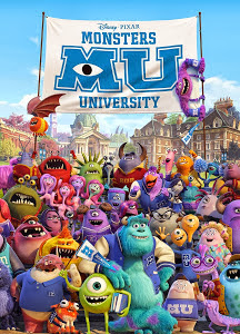 Poster Of Hollywood Film Monsters University (2013) In 300MB Compressed Size PC Movie Free Download At 300Mb.cc