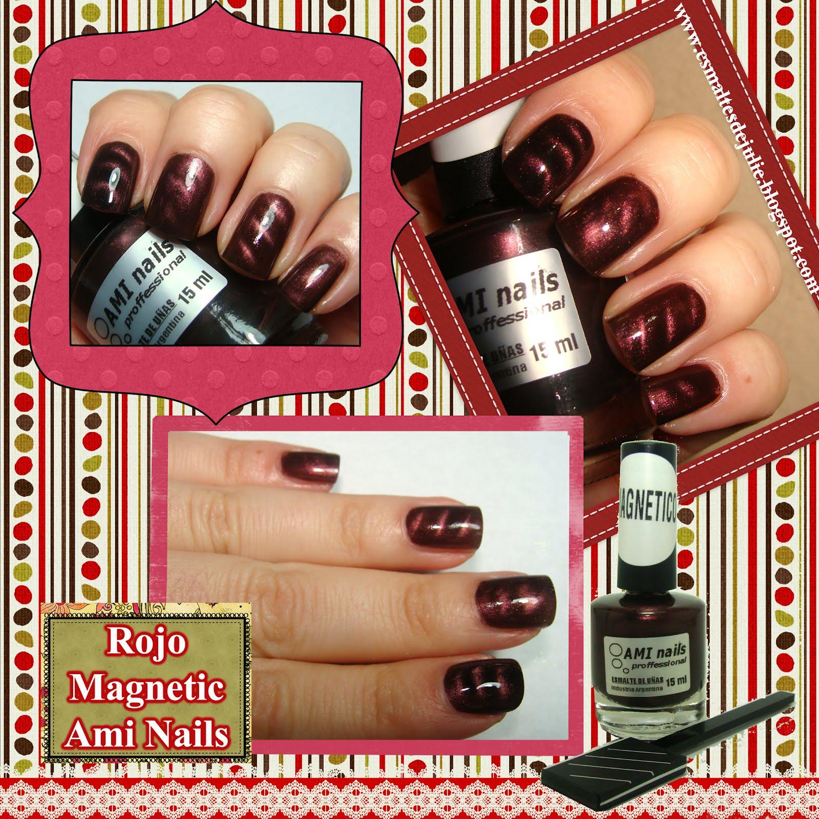 Esmaltes de Julie: Ami Nails: esmaltes con efectos