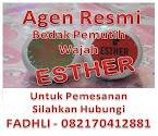 Bedak Pemutih Wajah Esther Asli