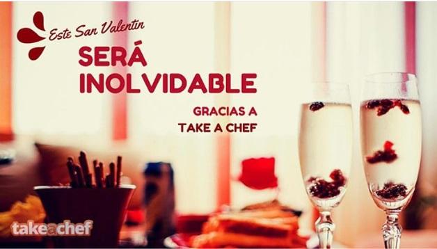 Un chef a domicilio en el día de San Valentín