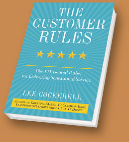 The Customer Rules by Lee Cockerell {Review and Giveaway}