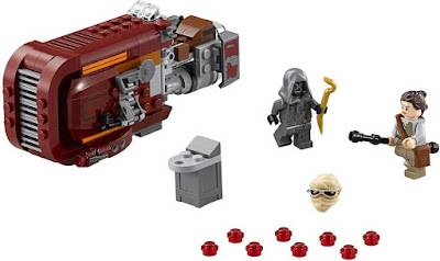 TOYS : JUGUETES - LEGO Star Wars VII 75099 Rey's Speeder Star Wars Episodio VII El Despertar de la Fuerza - The Force Awakens Producto Oficial Película Disney 2015 | Piezas: | Edad: 7-12 años Comprar en Amazon España & buy Amazon USA