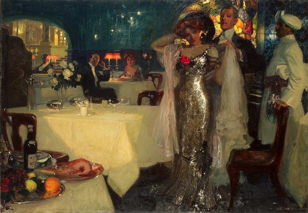 Cafe paintings 19th and 20th centuries blog of an art for Diner painting
