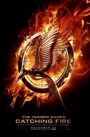 "El teaser Póster de  ""The Hunger Games: Catching Fire"""