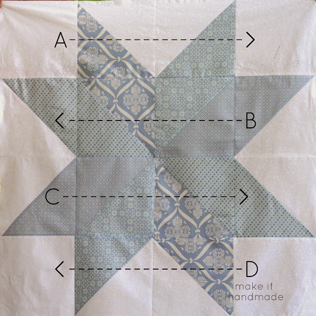 Big Star Baby Blanket-- this is the best, easiest starter quilt... and actually doesn't require any quilting! Free pattern and tutorial: www.makeithandmade.com