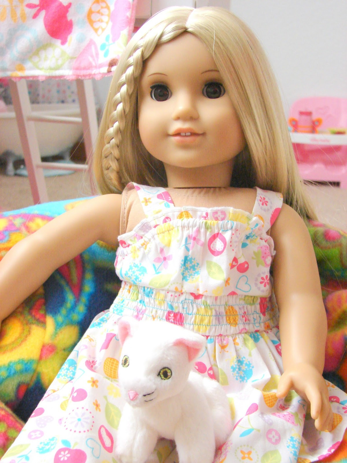 """American Girl Doll Play Product Review AhhProds """"LiL Me"""" Bean"""