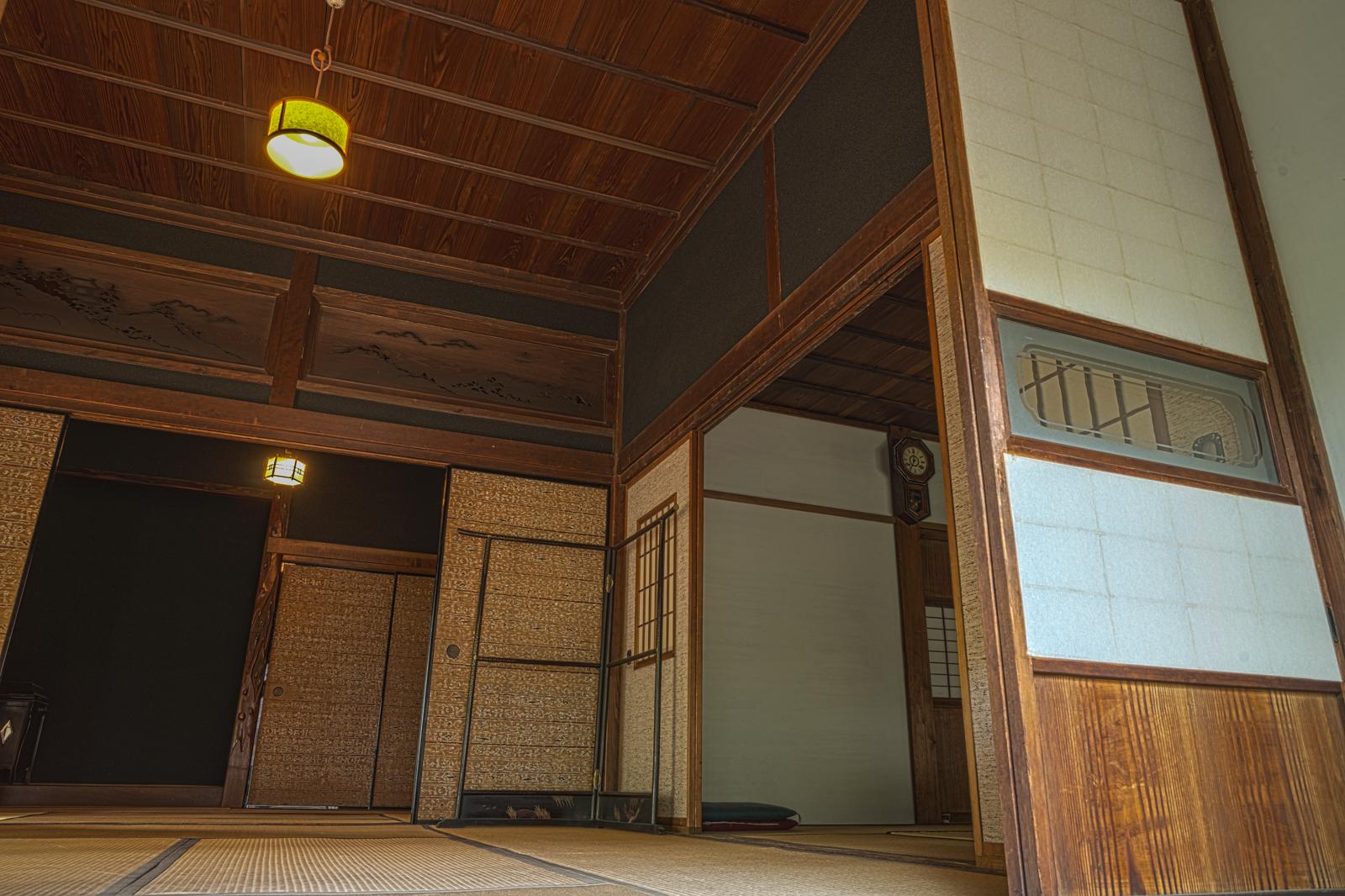 江戸東京たてもの園、江戸時代の商店の民家部分の和室