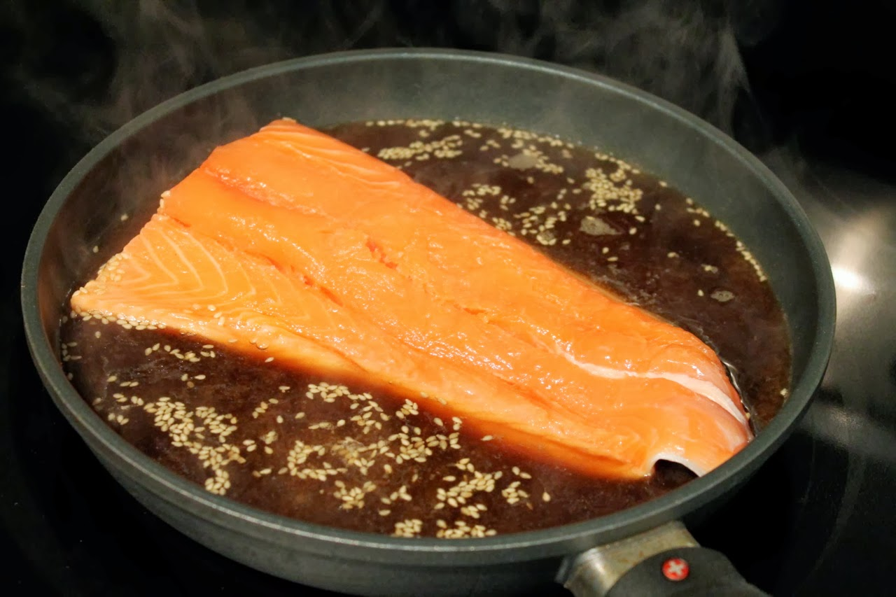Cook In / Dine Out: Dashi-Poached Salmon