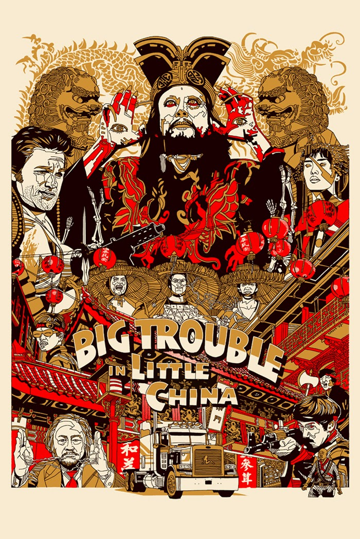 MondoCon 2014 Exclusive Big Trouble in Little China #1 Variant Cover by Tyler Stout