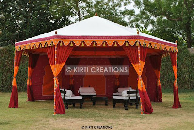 Handmade Party Tent