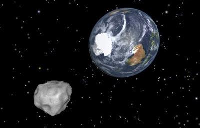 Foto Asteroid Asteroid 2012 DA14