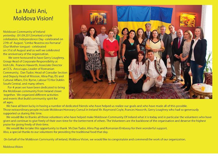 La Multi Ani, Moldova Vision!