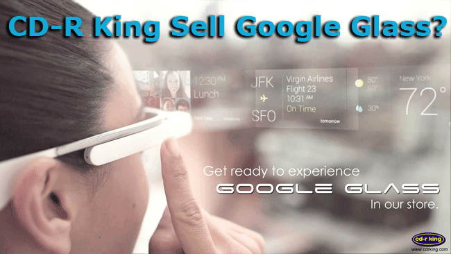 announcement on Facebook by CDR King about Selling Google Glass