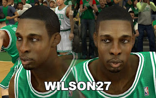 NBA 2K13 Boston Celtics Cyber Face Pack Jeff Green
