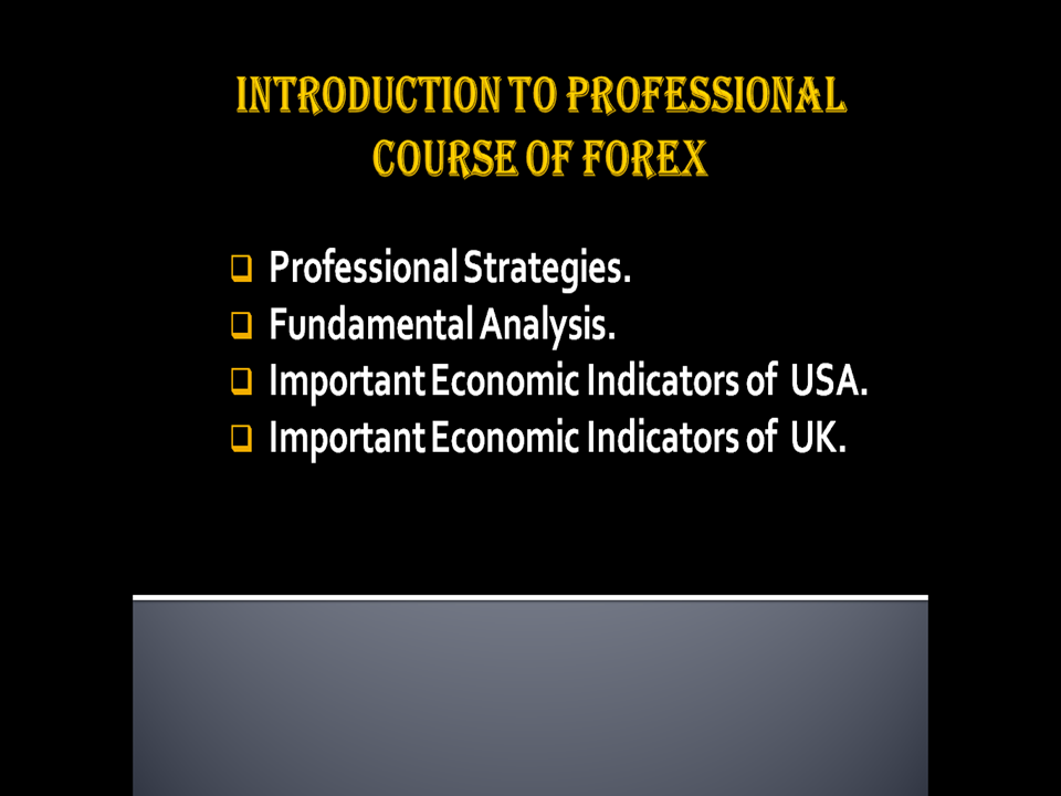 Forex fundamental analysis service