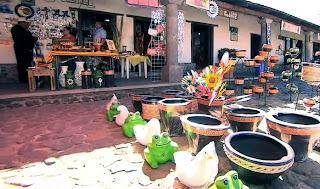 Artesanía en Huasca