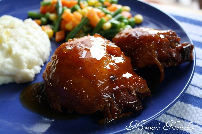 ... Kitchen: The Pioneer Woman's Peach-Whiskey Barbecue Chicken {Heavenly