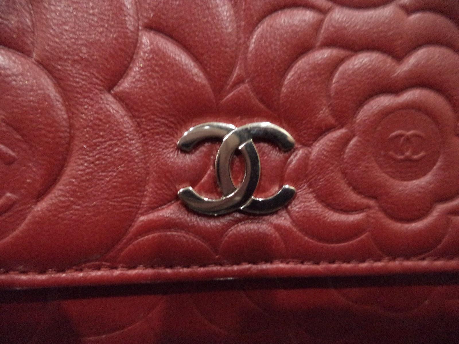 Chanel woc red lambskin photo