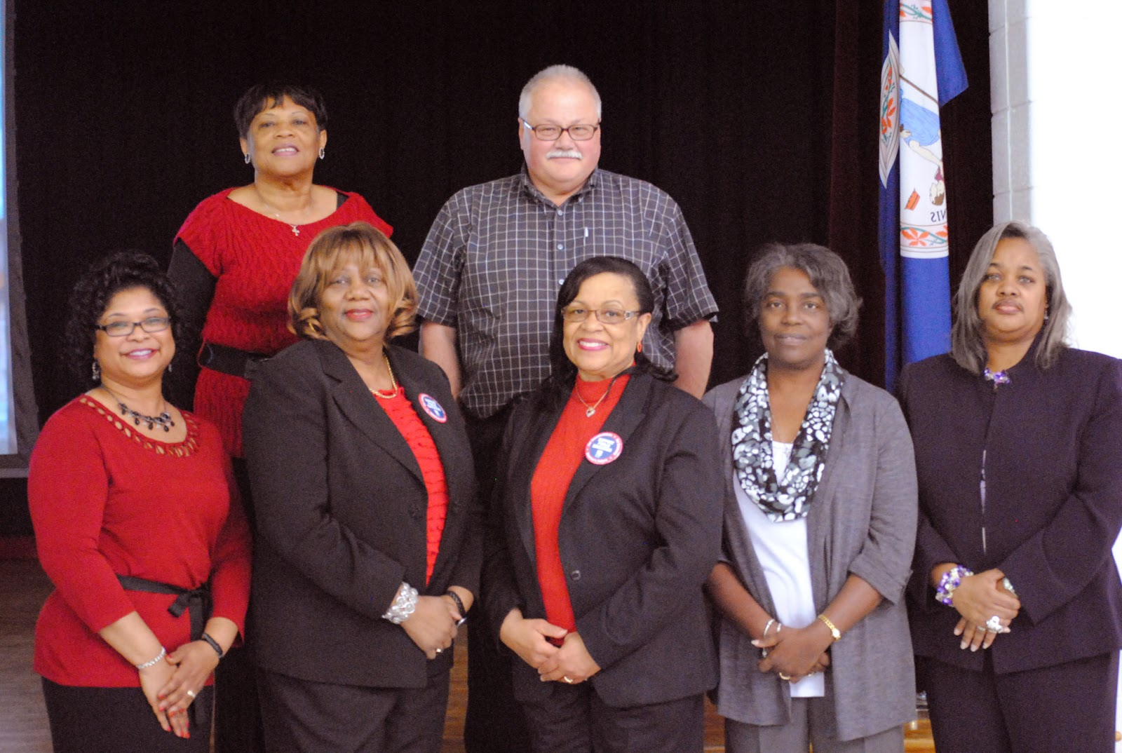elsie dennis thanked school boardclerk lynne jones and deputy clerk