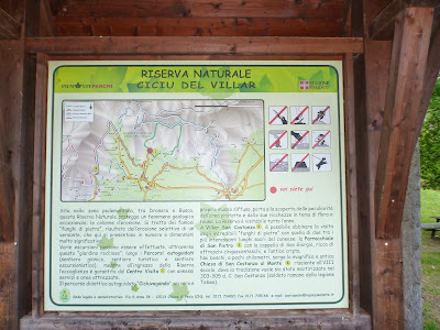 Informational Signs from the Riserva Naturale Ciciu del Villar