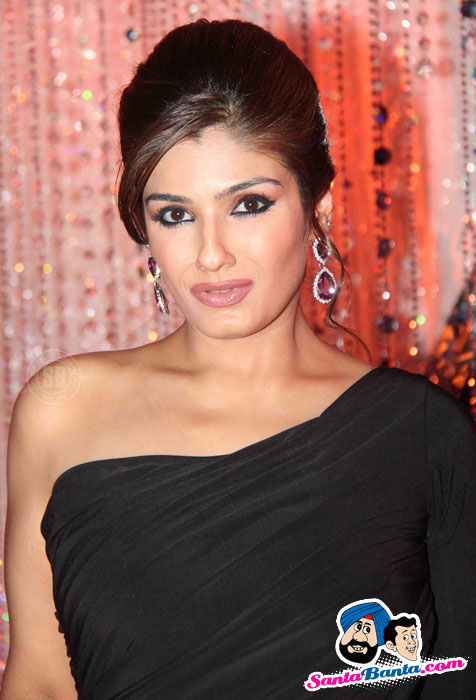 Raveena Tandon  - Raveena Tandon at Double Dhamaal Promotion