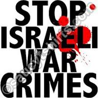 Parem os crimes israelenses
