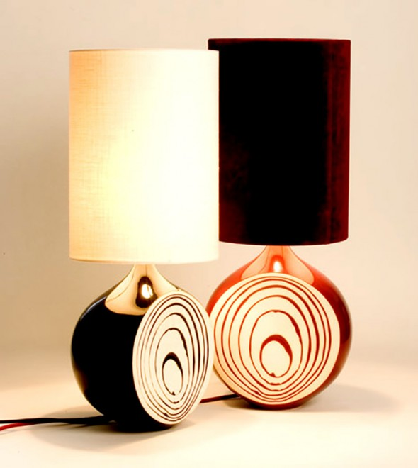 bedroom table lamp via