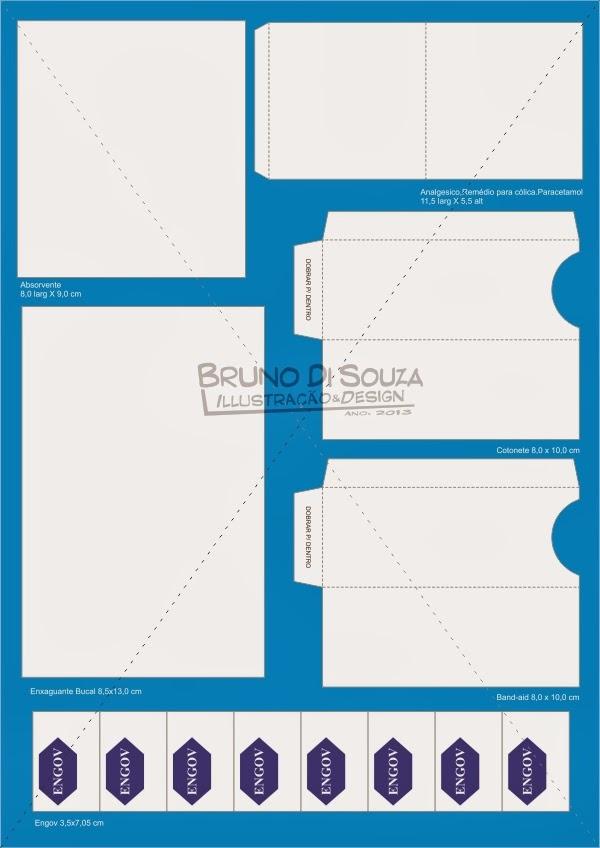 Kit Banheiro Molde : Moldes do kit toilet completo para banheiro bruno di souza