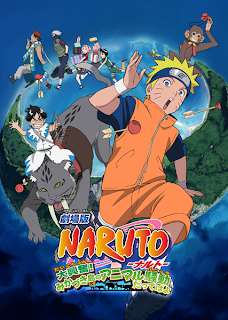 Free Download Naruto Shippuden Movie 3 : Guardians of the Crescent Moon Kingdom