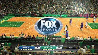 NBA 2K13 FOX Sports Watermark and Overlay Mod