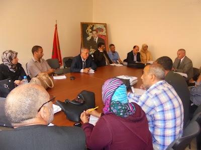 """نيابة سيدي بنور تواصل لقاءاتها حول """"الاستراتيجية الاقليمية لأجرأة مشروع المؤسسة"""""""
