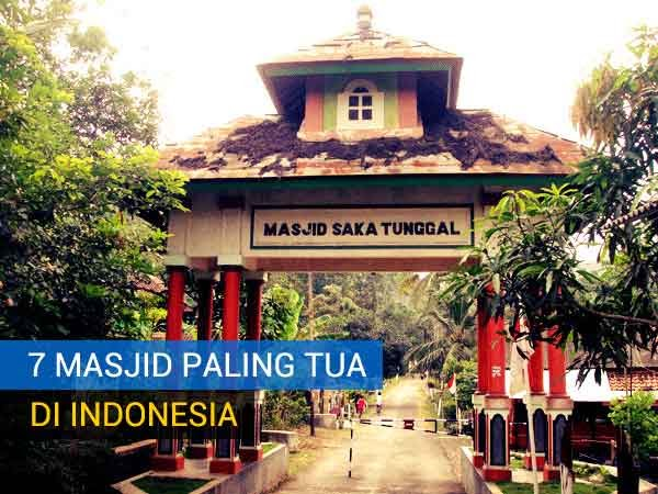Masjid Saka Tunggal | 7 Masjid Paling Tua di Indonesia