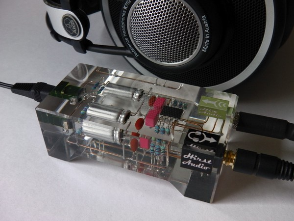 Stunning Crystal cMoy Freeform Headphone Amplifier