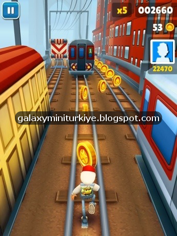 Subway Surfers 1.6 MOD APK - PARA HİLELİ (KASMAYAN) - Galaxy Mini