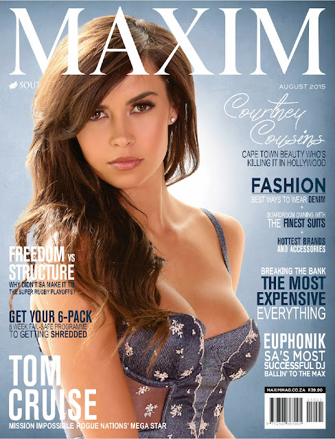 Model @ Courtney Cousins - Maxim South Africa, August 2015
