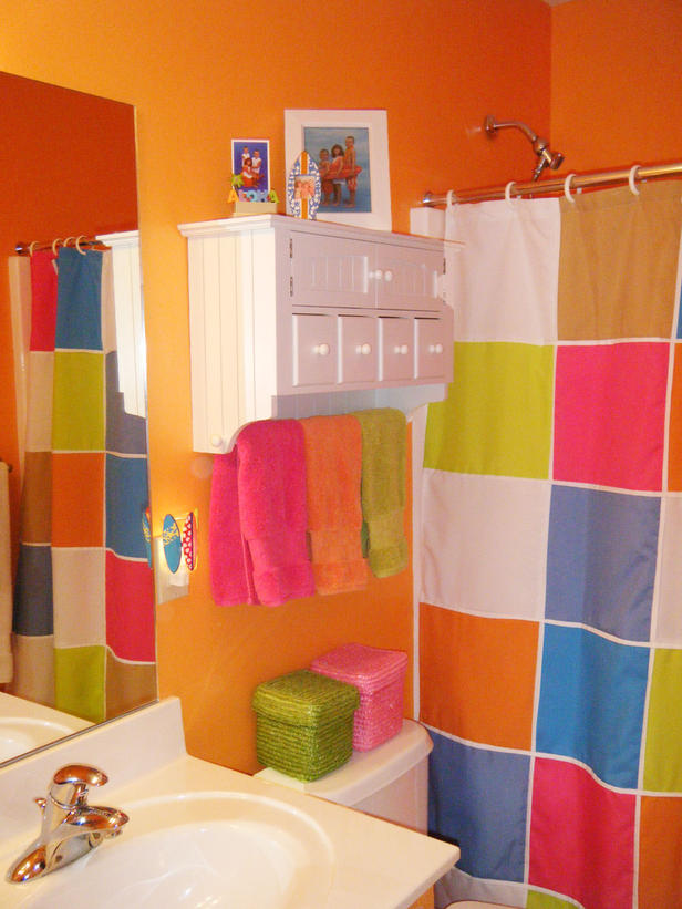 Modern Furniture Colorful Shower Curtains Design Ideas 2012